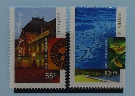 Australia Stamps, 2009, SG3205-3206, Mint 3