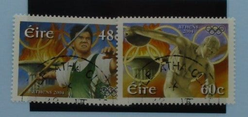 Ireland Stamps, 2004, SG1661-1662, Used 3