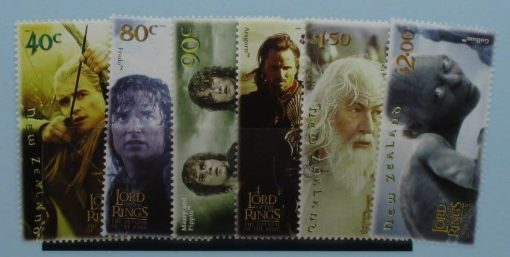 New Zealand Stamps, 2003, SG2652-2657, Mint 3