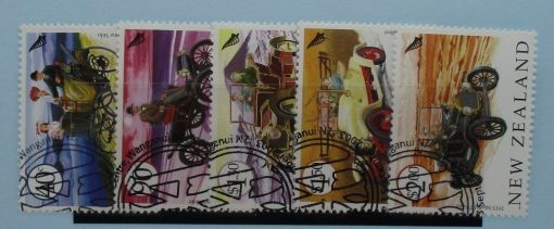 New Zealand Stamps, 2003, SG2639-2643, Used 3