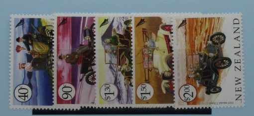 New Zealand Stamps, 2003, SG2639-2643, Mint 3
