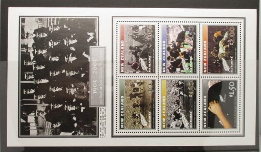 New Zealand Stamps, 2003, MS2629, Mint 3