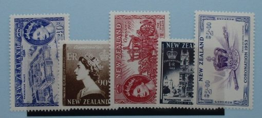 New Zealand Stamps, 2003, SG2618-2622, Mint 3