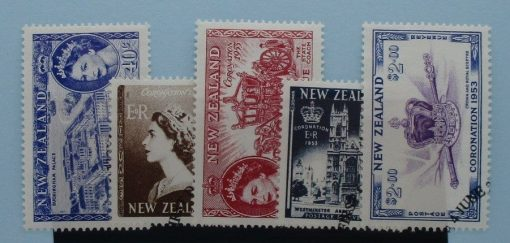 New Zealand Stamps, 2003, SG2618-2622, Used 3