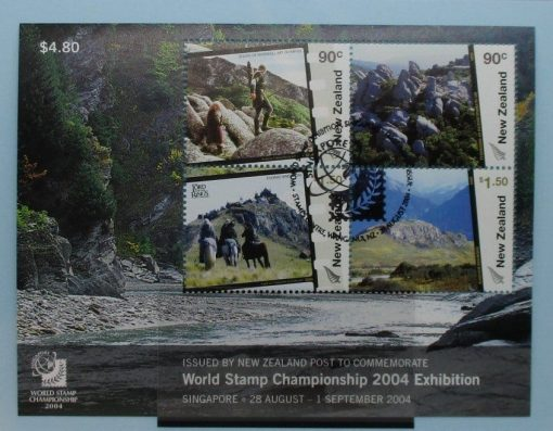 New Zealand Stamps, 2004, MS2731, Used 3