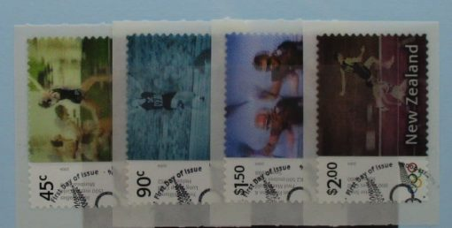 New Zealand Stamps, 2004, SG2727-2730, Used 3