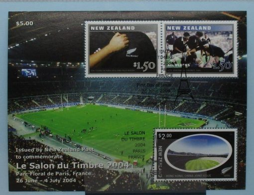 New Zealand Stamps, 2004, MS2712, Used 3