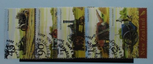 New Zealand Stamps, 2004, SG2695-2699, Used 3