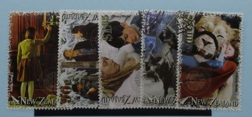 New Zealand Stamps, 2005, SG2834-2838, Used 3