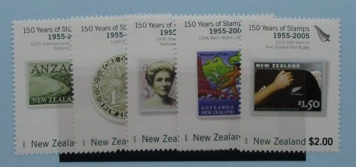New Zealand Stamps, 2005, SG2791-2795, Mint 3