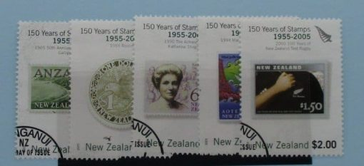 New Zealand Stamps, 2005, SG2791-2795, Used 3