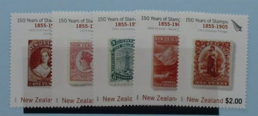 New Zealand Stamps, 2005, SG2771-2775, Mint 3