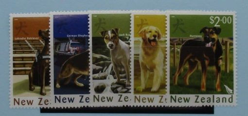 New Zealand Stamps, 2006, SG2840-2844, Mint 3