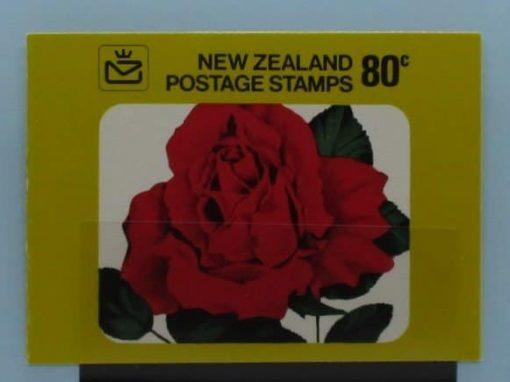 New Zealand Stamps, 1977, SB29, Mint 3