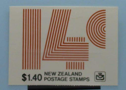 New Zealand Stamps, 1980, SB33, Mint 3