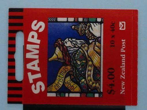 New Zealand Stamps, 1996, SB82, Mint 3