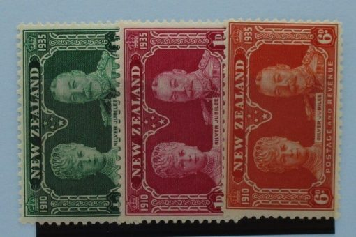 New Zealand Stamps, 1935, SG573-575, Mint 3