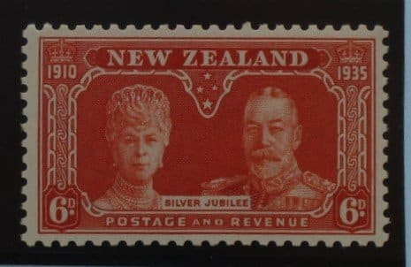 New Zealand Stamps, 1935, SG575, Mint 3