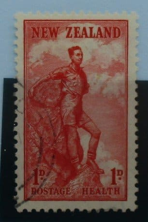 New Zealand Stamps, 1937, SG602, Used 3