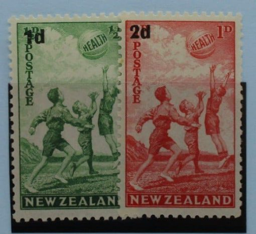 New Zealand Stamps, 1939, SG611-612, Mint 3