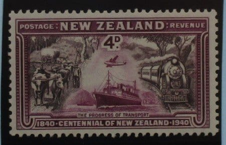 New Zealand Stamps, 1940, SG619, Mint 3