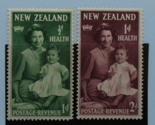 New Zealand Stamps, 1950, SG701-702, Mint 3