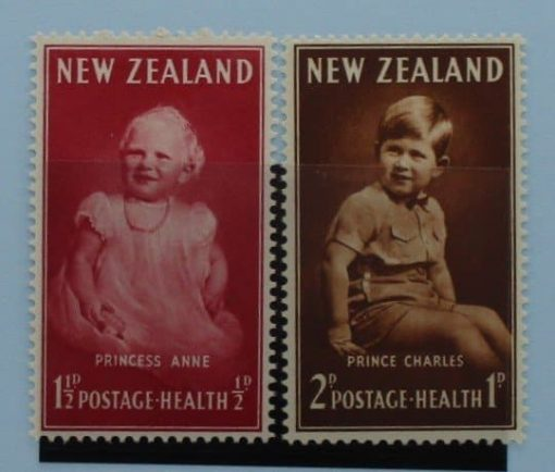New Zealand Stamps, 1952, SG710-711, Mint 3
