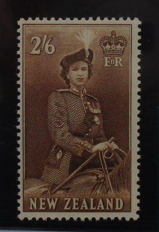 New Zealand Stamps, 1953-59, SG733d, Mint 3