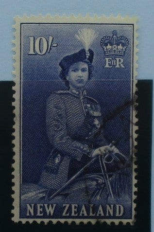 New Zealand Stamps, 1953-59, SG736, Used 3