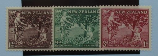 New Zealand Stamps, 1956, SG755-757, Mint 3