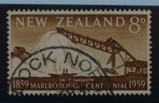 New Zealand Stamps, 1959, SG774, Used 3