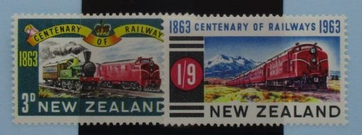 New Zealand Stamps, 1963, SG818-819, Mint 3