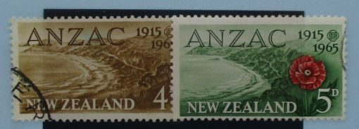 New Zealand Stamps, 1965, SG826-827, Used 3