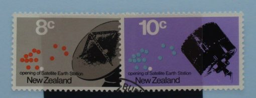 New Zealand Stamps, 1971, SG958-959, Used 3