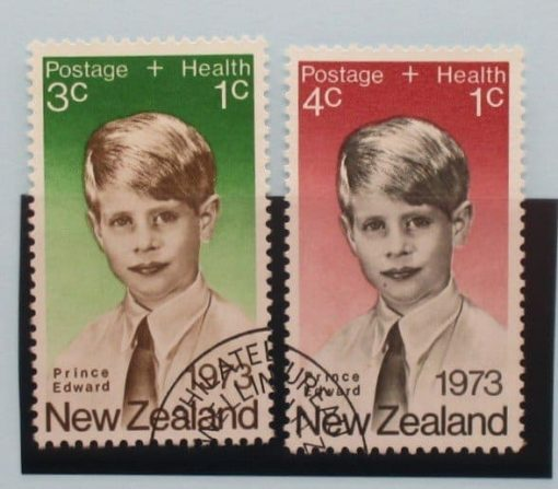 New Zealand Stamps, 1973, SG1031-1032, Used 3