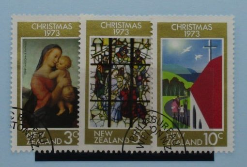 New Zealand Stamps, 1973, SG1034-1036, Used 3