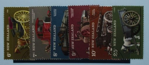 New Zealand Stamps, 1976, SG1115-1120, Used 3