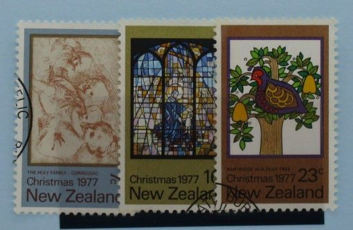 New Zealand Stamps, 1977, SG1153-1155, Used 3