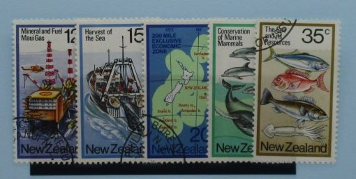 New Zealand Stamps, 1978, SG1174-1178, Used 3