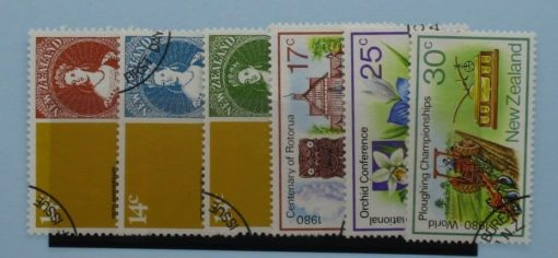 New Zealand Stamps, 1980, SG1210-1215, Used 3