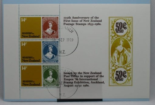 New Zealand Stamps, 1980, MS1216, Used 3