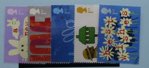 Great Britain Stamps, 2002, SG2260-2264, Used 3