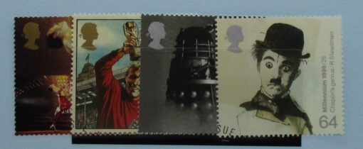 Great Britain Stamps, 1999, SG2092-2095, Used 3