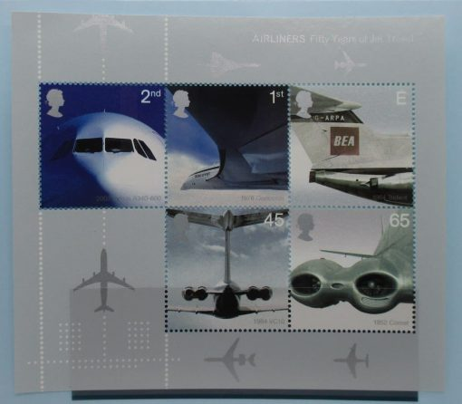 Great Britain Stamps, 2002, MS2289, Mint 3