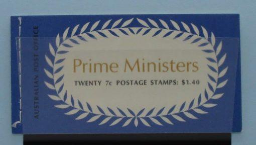 Australia Stamps, 1972, SB51a, Mint 3