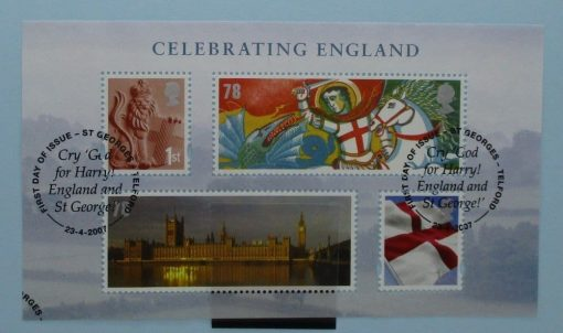 Great Britain Stamps, 2007, MSEN50, Used 3