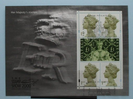 Great Britain Stamps, 2000, MS2147, Used 3