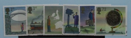 Great Britain Stamps, 2007, SG2715-2720, Used 3