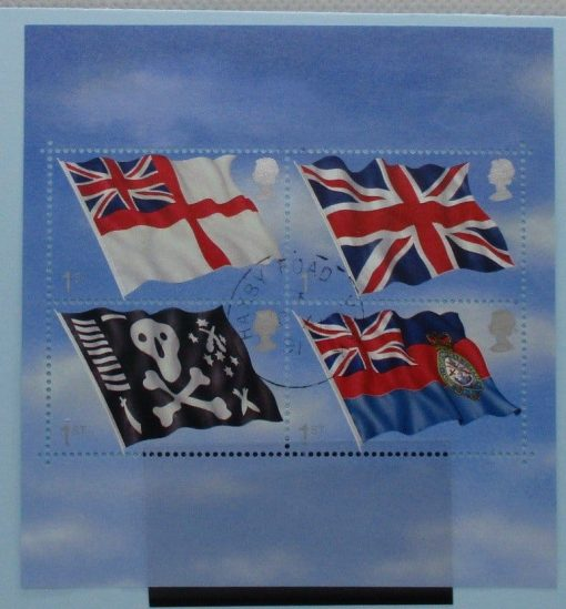 Great Britain Stamps, 2001, MS2206, Used 3