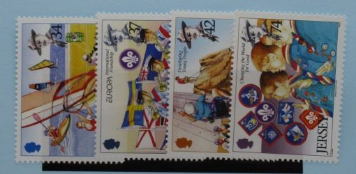 Jersey Stamps, 2007, SG1300-1303, Mint 3